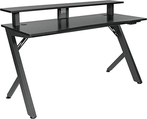 Best home office desk: OSP Home Furnishings Area51 Battlestation Gaming Desk