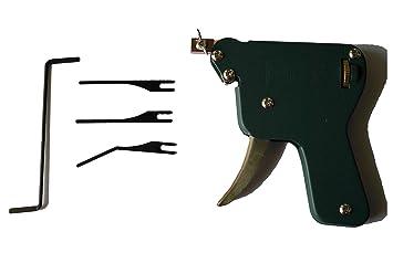 Picklock24. Pistola de ganzuas manual (de cerrajero)