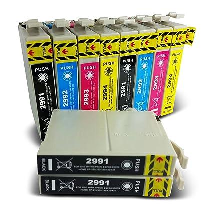 Global Toners 10 cartuchos de tinta compatibles 29XL para ...
