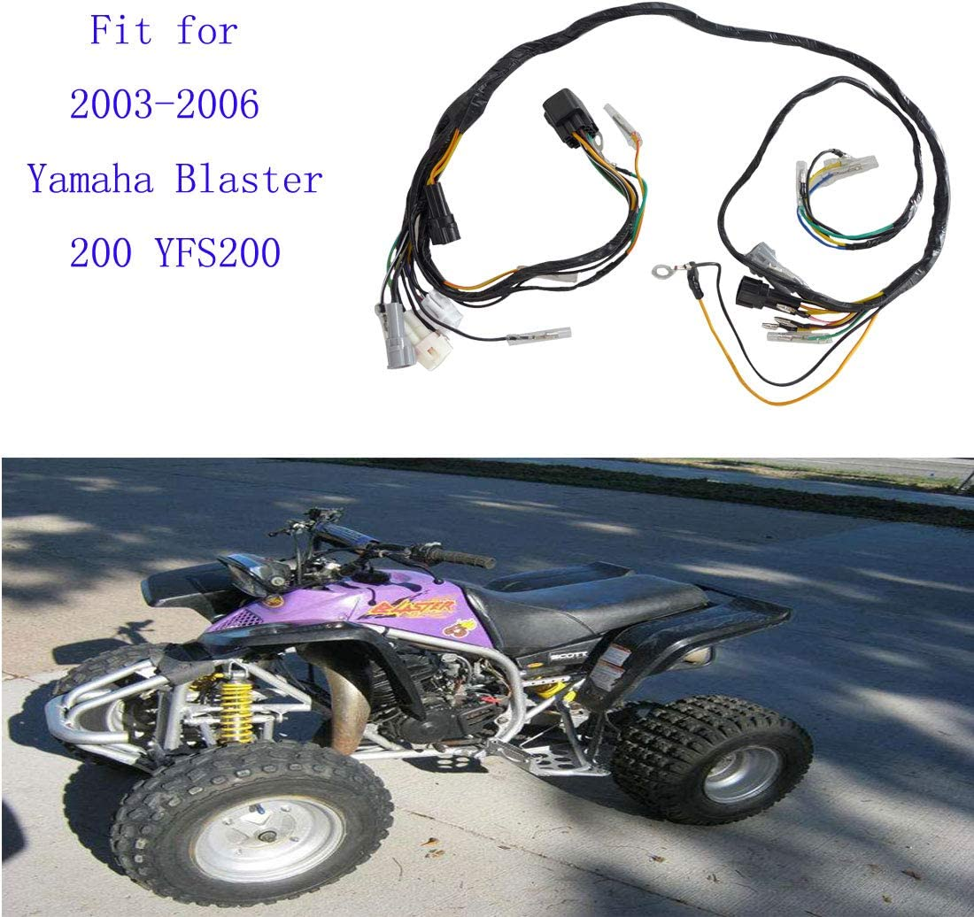 Wiring Harness Coil Fit for 2003-2006 Yamaha Blaster 200 YFS200 2004 2005