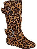 New Girls Slouch Comf Tall Midcalf Suede Winter Boots Shoes (Toddler/Little Kid/Big Kid)