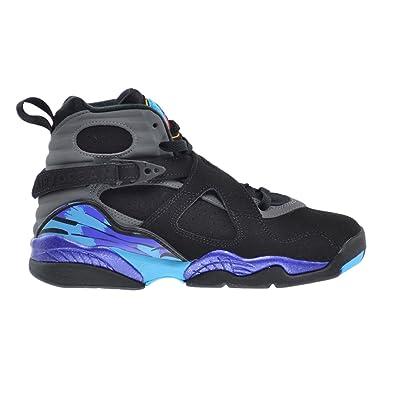 sports shoes d36f3 db98b Jordan Air 8 Retro BG Big Kids Shoes Black True Red-Bright Concord 305368