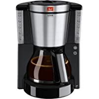 Melitta Look DeLuxe, Filterkaffeemaschine mit Glaskanne, AromaSelector