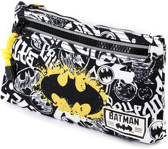 Karactermania 37594 Batman Tagsignal Estuches, 22 cm, Gris: Amazon.es: Equipaje