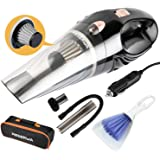 Reserwa [5th Gen] Car Vacuum 12V 106W Car Vacuum Cleaner 4500PA Much Stronger Suction Potable Handheld Auto Vacuum…