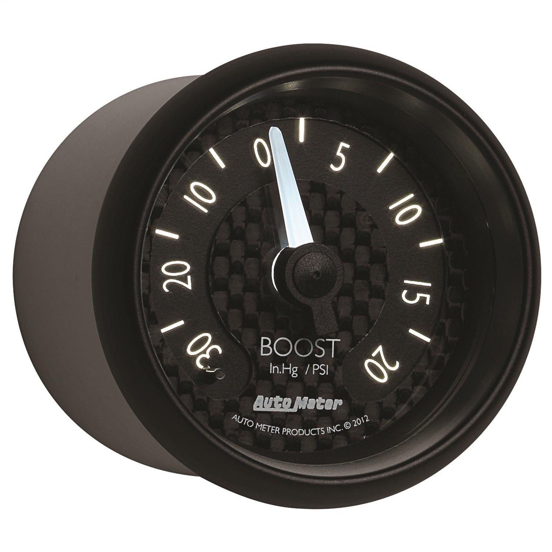 Auto Meter 8001 GT Series Mechanical Boost/Vacuum Gauge by AUTO METER