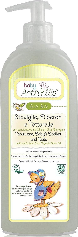 Anthyllis Lavavajillas Para Biberones Y Tetinas 460 Ml. Eco 460 ml