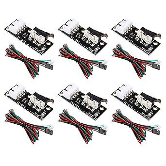 6 unidades de interruptor de límite de equipo mecánico con cable ...
