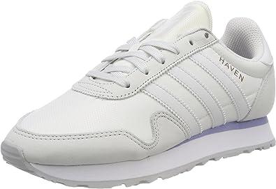 Adidas Haven W, Zapatillas de Running para Mujer, Blanco (Crywhtcrywhtgretwo), 38 EU: Amazon.es: Zapatos y complementos