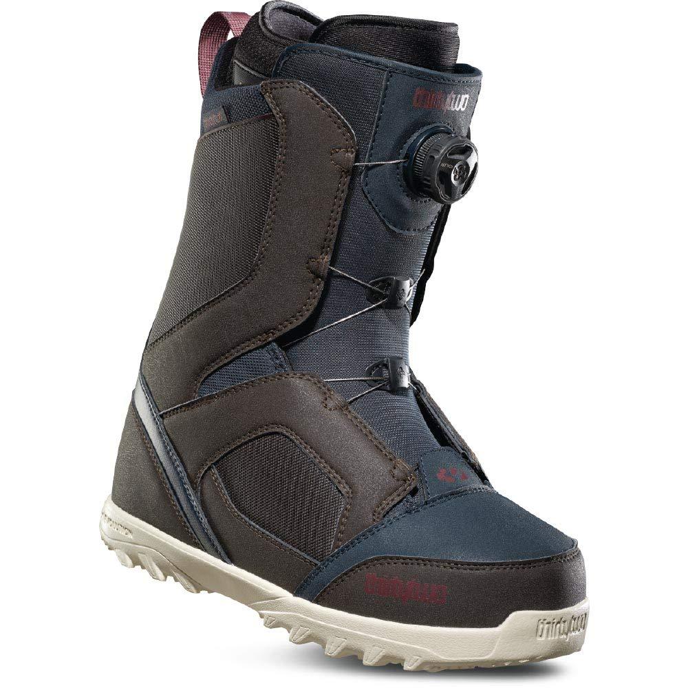 THIRTY TWO(32) STW BOA 褐色/NAVY 18-19モデル 26.0 メンズ スノーボード ブーツ スノボー 靴 26.0