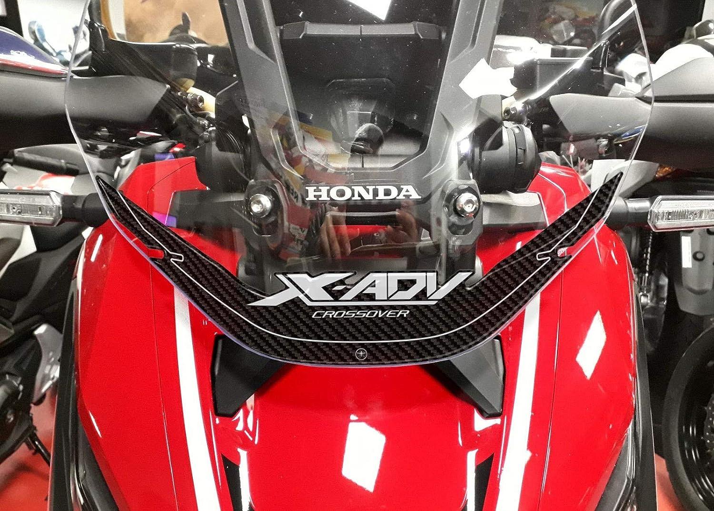 2 ADESIVI IN RESINA GEL 3D PER PARAMANI COMPATIBILI PER MOTO SCOOTER HONDA X-ADV