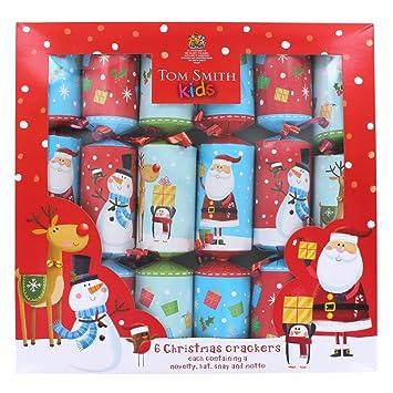 fun kids christmas crackers 6 pack