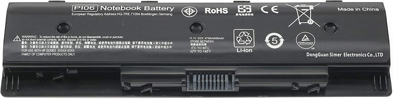 M5Y1K Battery Replacement for Dell Inspiron 15 3000 5000 Series 5555 5558 5559 5566 5758 3567 3551 3552 3558 14 3451 3452 3458 3459 5458 17 5755 GXVJ3 HD4J0 WKRJ2 VN3N0 451-BBMG Laptop Battery