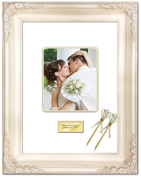 Amazon.com - Personalized Engraved Wedding Anniversary Photo 20x24 ...