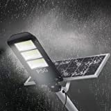 180W Solar Street Lights Outdoor Lamp, 360 LEDs