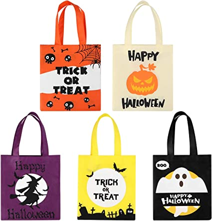 Bag Purse Halloween Trick or Treaters Eco Friendly Tote
