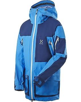 Haglöfs Ski Jacke Vassi II Jacket - Chaqueta de esquí para hombre, color azul claro/azul marino, talla M: Amazon.es: Deportes y aire libre