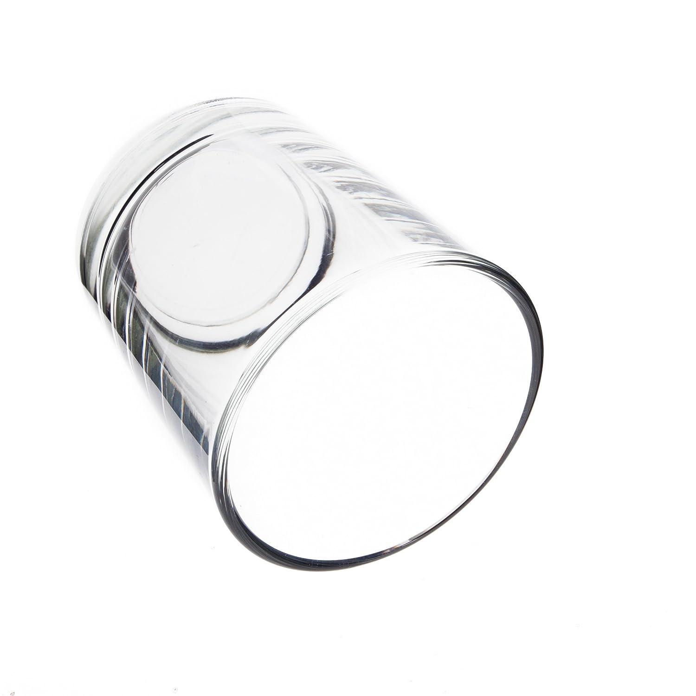 Photophore // Bougeoir en verre MALI Verre /à bougie // Photophore en verre transparent 6,5 cm /Ø 6 cm INNA Glas
