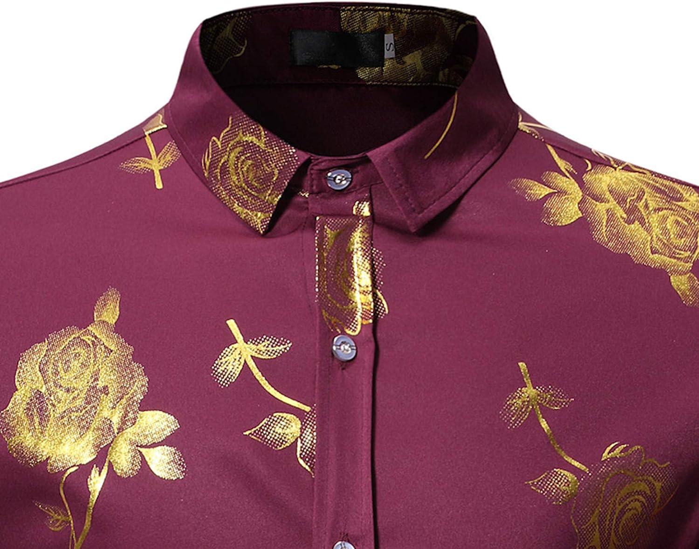 Camisa de Talla Europea de Manga Larga bronceada para Hombres ...