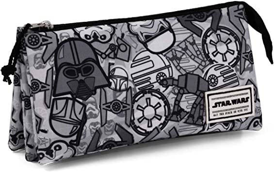 Karactermania Star Wars Pictogram Estuches, 24 cm, Gris: Amazon.es: Equipaje