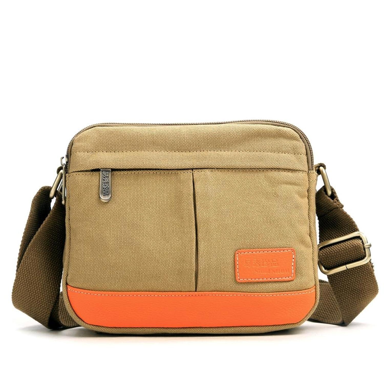 Eshow Women's Small Canvas Crossbody Shoulder Bag