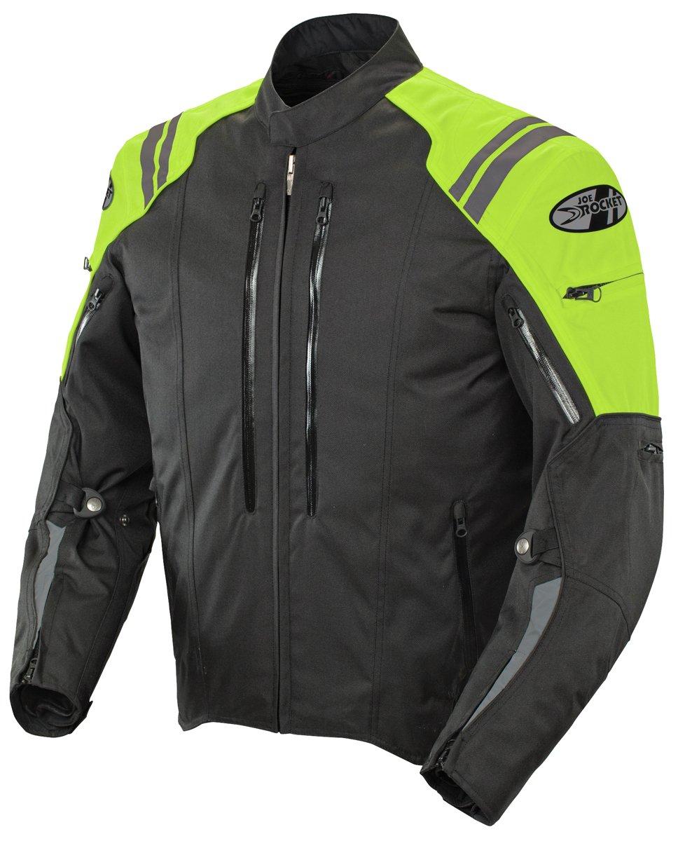 Neon Yellow, Medium Joe Rocket 1051-5603 Atomic 4.0 Mens Riding Jacket