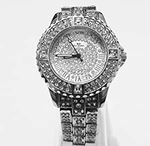 Mashali Dress Watch For Women Analog Stainless Steel - b23