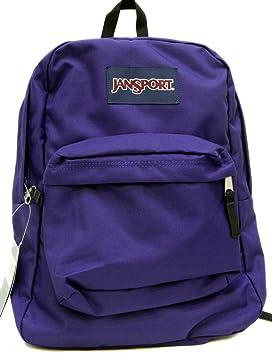BOLSO ESCOLAR JANSPORT SUPERBREAK MOCHILA - Electric Purple- 4UT: Amazon.es: Equipaje