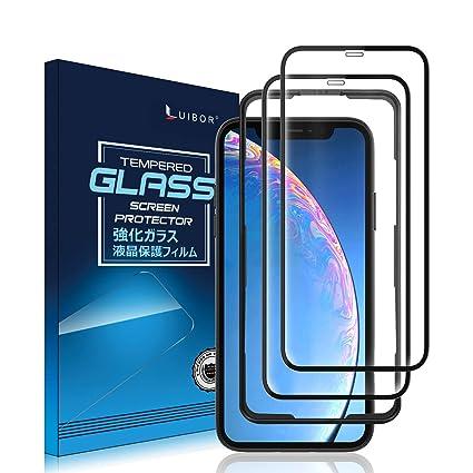 Luibor Cristal Templado para iPhone 11 Pro MAX/XS MAX [2 ...