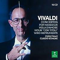 Vivaldi: Concertos for Wind instruments, Mandolin, Viola d'amore &
