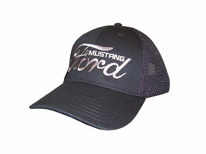 Ford Mustang Hat Black Gt Boss Fox Body Ponycar Shelby
