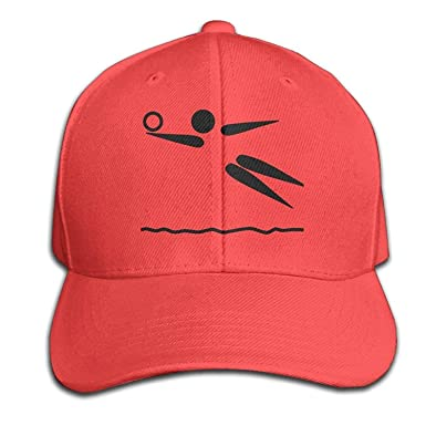 Reghhi Gorras de béisbol Divertidas Sombreros Sand Beach ...