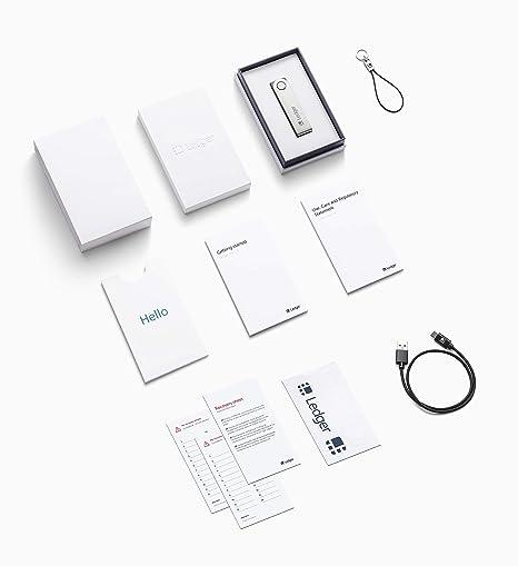 Ledger Nano X - Monedero Hardware de criptomonedas - Bluetooth