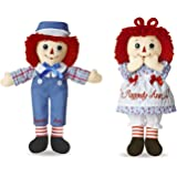 Bundle of 2 Aurora Dolls - 12'' Raggedy Ann and Raggedy Andy