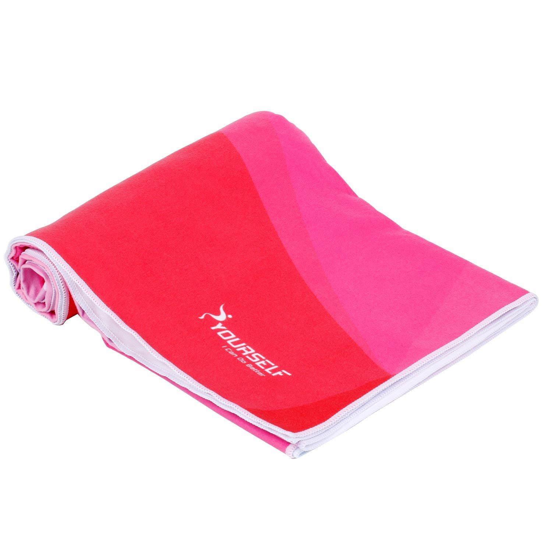 Borsa da Viaggio Oversize Teli//Coperta//Mat- Perfetto per Viaggi Assorbente Yoga Leggero Sport Asciugatura Rapida Syourself in Microfibra Beach Towel- XL:178cm x 88cm o L: 152 cm x 76 cm