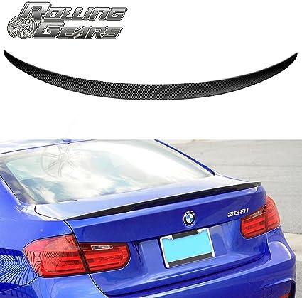 BMW F34 série 3 GRAND TURISMO Véritable fibre de carbone BOOT SPOILER M Performance