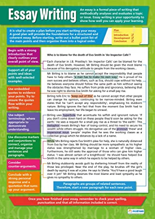 Amazoncom Essay Writing Poster  English Language Chart For All  Essay Writing Poster  English Language Chart For All Students Glossy  Paper Measuring