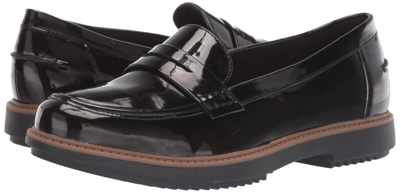 Details about Clarks Women's Raisie Eletta Penny Loafer, Black L Choose SZcolor