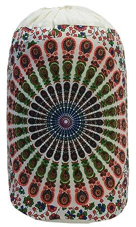 Bolsa Indian Star Mandala, Mochila Unisex, Bolsa de Playa Boho, Mochilas Multiusos,