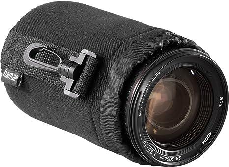 Hama Objektivbeutel Neopren Größe M U A Passend Für Objektive Von Herstellern Wie Nikon Canon Olympus Panasonic