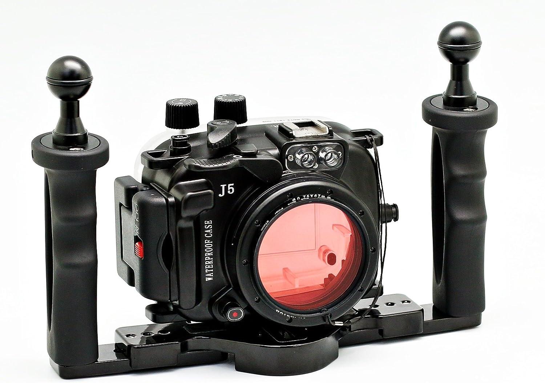 camdive 40 m/130ft para Nikon 1 J5 (10 mm) carcasa submarina para ...