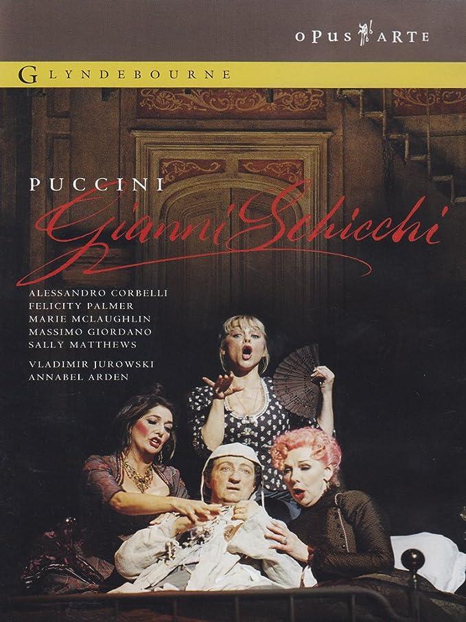 Puccini, Giacomo: Gianni Schicchi [DVD] [Reino Unido]