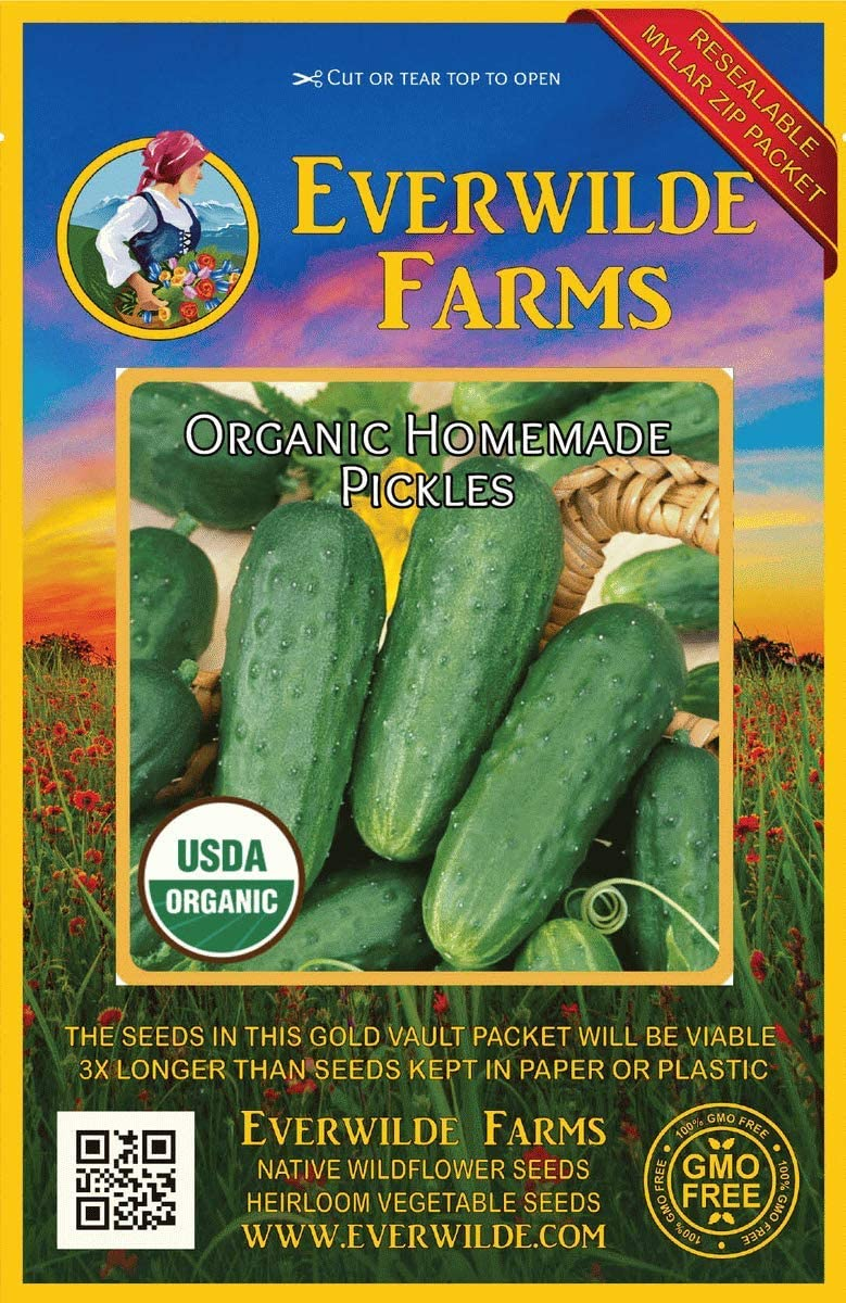 50 Purple Romagna Artichoke Seeds Everwilde Farms Mylar Seed Packet