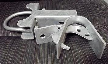 Safe-T Line Track Bracket for Roll Gate Slide Chain Link Master Halco Brackets