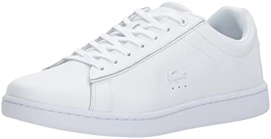 7b99504064 Amazon.com | Lacoste Carnaby (Women) Sneaker White 9 M US | Fashion ...