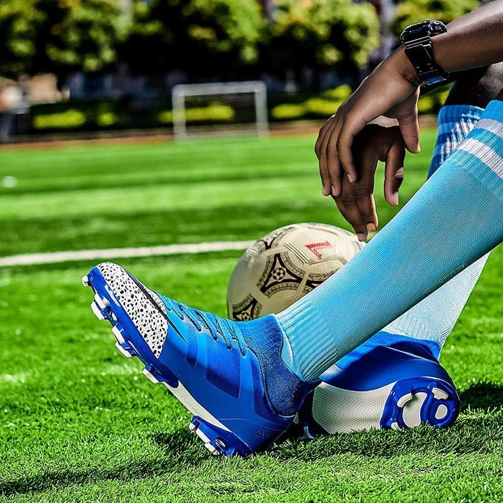 Chaussures de football professionnel masculin les crampons de football des jeunes de piste en plein air et des chaussures de soccer attelle professionnelle de formation sur le terrain de gymnastique