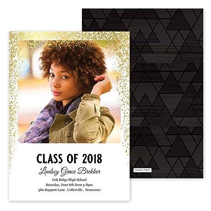 amazon com custom class of photo personalized graduation