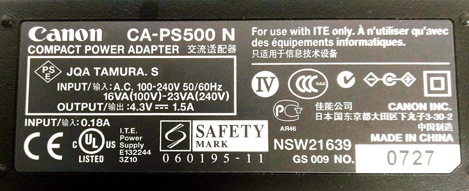 Canon CA-PS500 Adapter