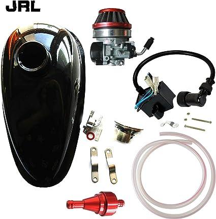 jrl Depósito de aceite depósito & carburador & rojo filtro de aire ...