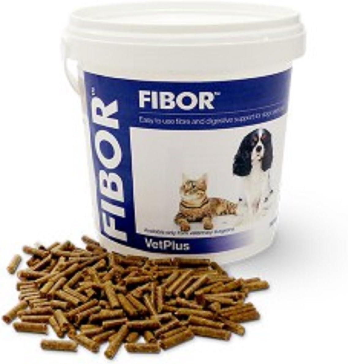 VetPlus Fibor - Suplemento Alimenticio para Digestión, 500 g: Amazon.es: Productos para mascotas